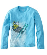 Boys' Graphic Tee, Long-Sleeve